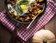 Fall Hash {flowers on my plate} Herbstpfanne