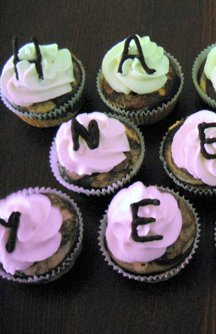 Happy New Year Silvester Cupcakes