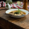 Late summer minestrone - Spätsommerminestrone {flowers on my plate}