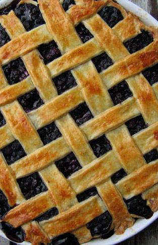 Rezept für amerikanische Pie Crust Mürbeteig Step by Step