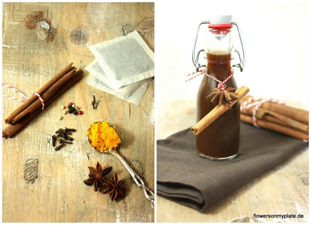 Chai Sirup + Gewürze