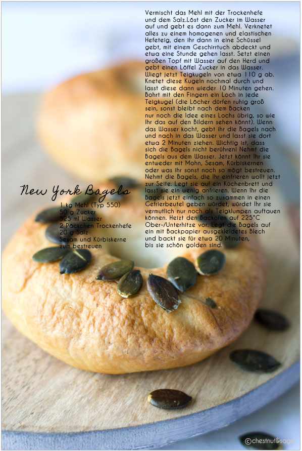 New York Bagels by Julia {Gastbeitrag Chestnut & Sage}