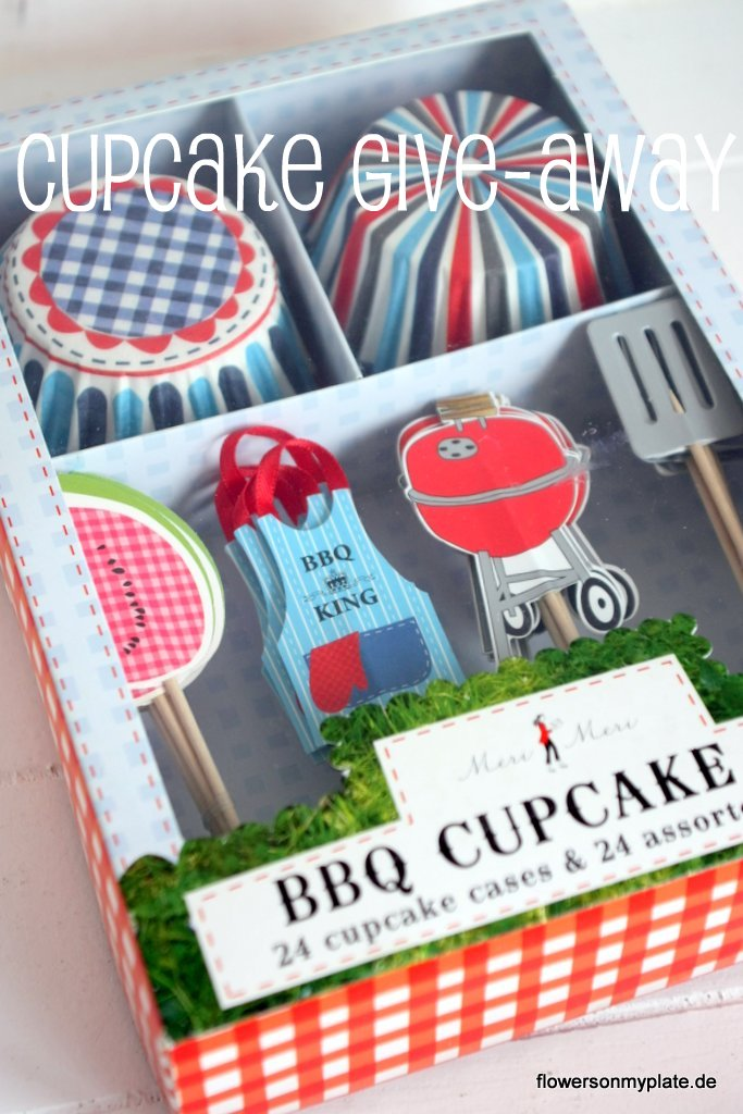 bbq cupcake set