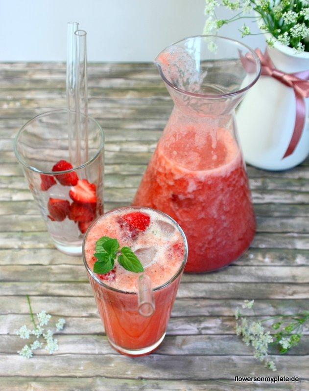 erdbeer rhabarber limonade2