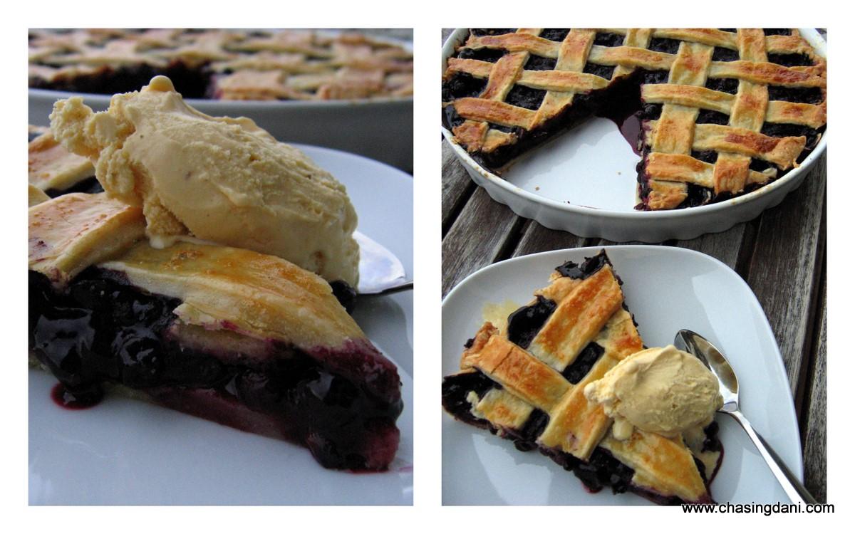 Blueberry Pie - Blaubeerkuchen
