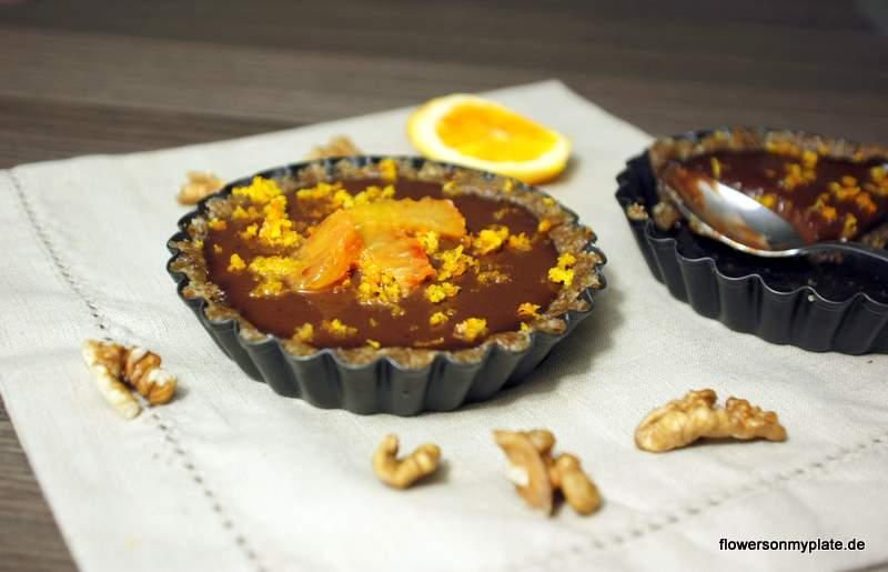 schoko-orangen-mousse-tartelettes