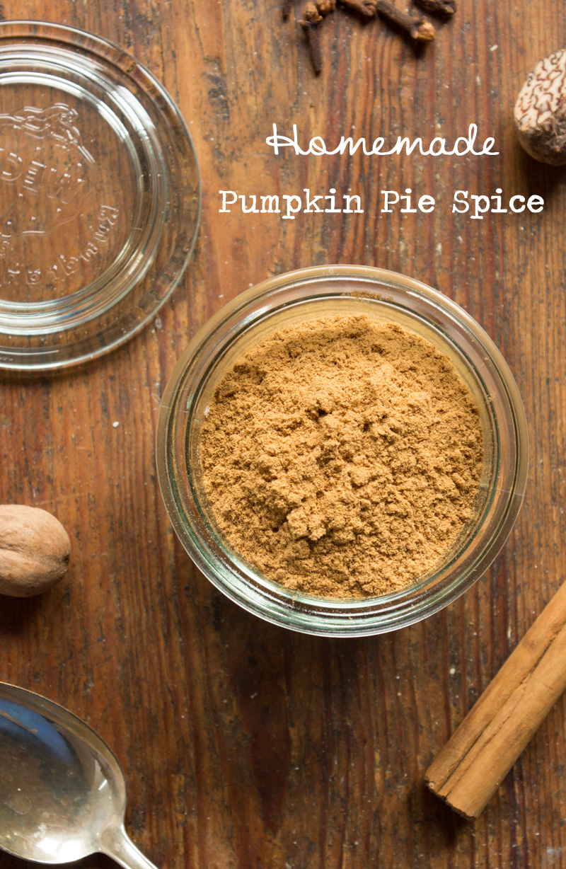 Homemade Pumpkin Pie Spice {flowers on my plate}